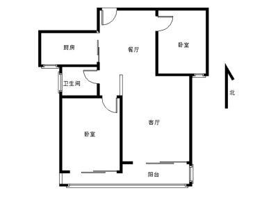 2011年小区 筼筜书院 高层朝南 精装2房 慢5年