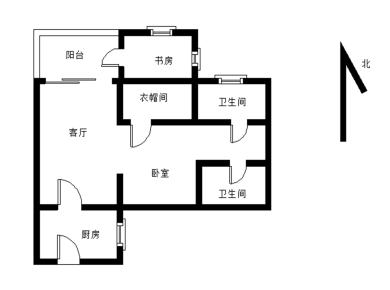 巴厘香泉精装两房可以改三房 满二年