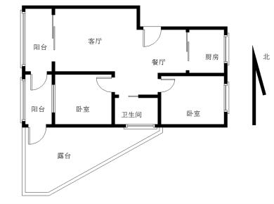 广顺花园2居