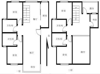凯悦新城楼中楼5房
