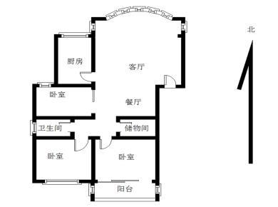 莲坂地铁口 富山花园 黄金楼层 精装三房 南北通透 湖明小学