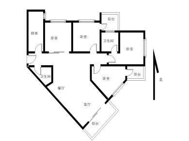 前埔BRT 旁电梯高层 大四房 南北通透 精装修  诚意出售