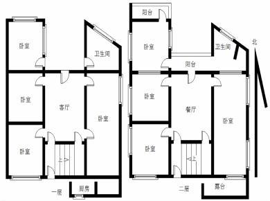 中山路 独栋私宅 可做民宿轻松做20个房间 低单价 民立小学