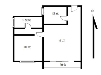 嘉盛豪园电梯高层2房,可改三房