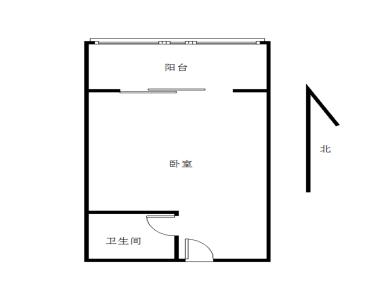 看房有锁,禾祥东,梧村小学,带小区电梯单身公寓,地铁口,满2