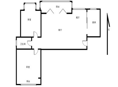 家居精装两居室,宜居楼层,房东诚意出售,产权清晰,产权满两
