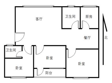 嘉信公寓3居满二