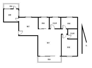 新景龙郡3房