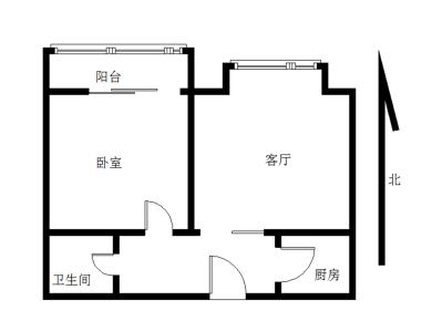 禹洲大学城  一室一厅