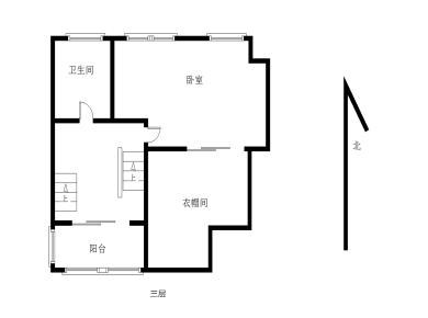 五月花三期五房两厅豪装楼中楼