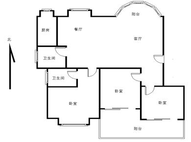 力荐!精装自住 花园小区新莲花新龙山二期 3室2厅2卫