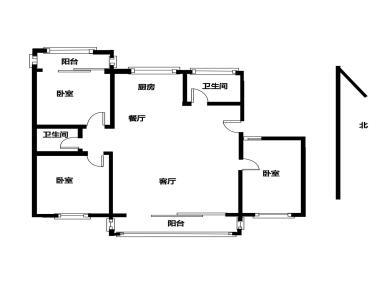 核心卖点地处繁华商圈,2000年小区,电梯高层、正规3房