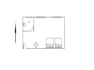 瑞景商业广场精装单身公寓