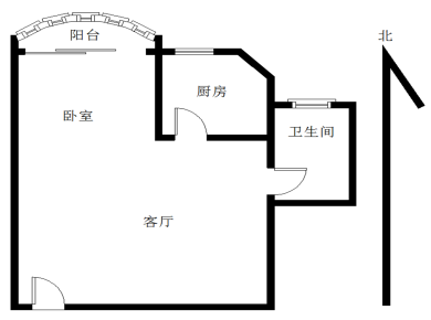 国贸阳光1居电梯