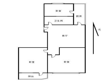 禾祥西 湖滨一里 三房 二楼 外国语小学 看房方便