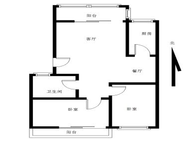 长隆花园+2房+装修