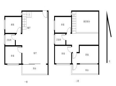 珍珠湾花园复式楼中楼一线海景房四房可改五房