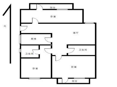西池,育安楼3房