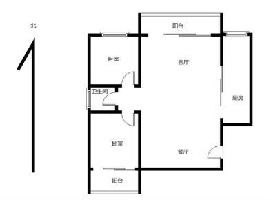 黎安精装两房,业主自住装修,随时看房,可拎包入住