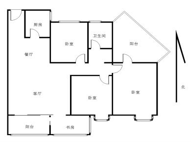 聚镇房东自住精装修 已改四房 中低楼层 房东诚售