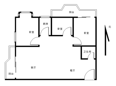 BRT斗西路站旁,嘉城花园3室2厅3阳台 电梯房,公摊小