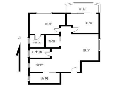 金龙大厦高层电梯房,3房精装修可拎包入住