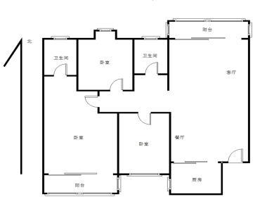 闽南古镇旁,翔鹭花城三期09年电梯房,正规精装3房。