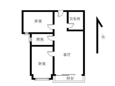 禹洲大学城2居电梯高层朝南