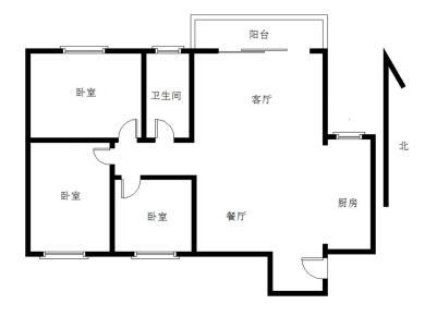 金山小区3室2厅