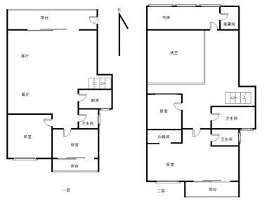 精装修,复式楼,使用面积大,南北通透,采光好。