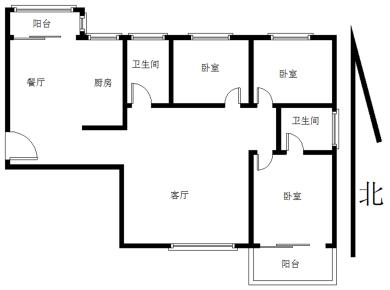 全明格局,户型方正,拎包入住居佳楼层,不沿马路