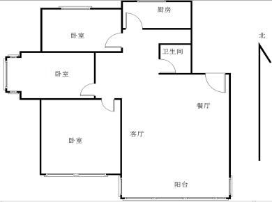 禾祥西路 美湖花园三房带露台功能房 开发商发票可望加装电梯