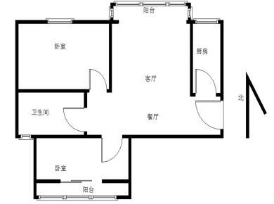 禹州溪堤尚城 2居