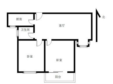 美地雅登 汇景商圈 产权满二 高层两房 诚售