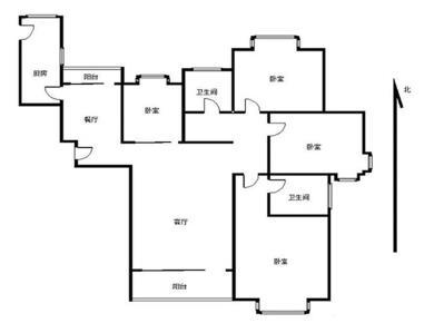 建发开发2017年小区正规四房南北朝向,精装拎包入住