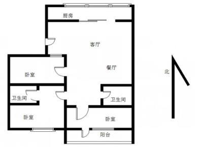 西池小区 业主新装修 看房方便 三房 产权满两年
