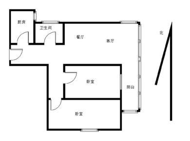 禹州旗下作品 产权76.39平 精装修两室 看房方便 BRT