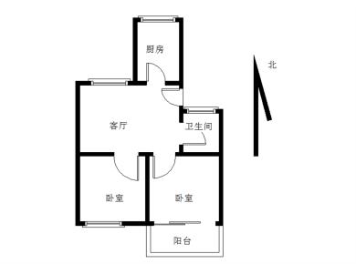 文兴东一里 框架两房 中间楼层 精装 南区小学