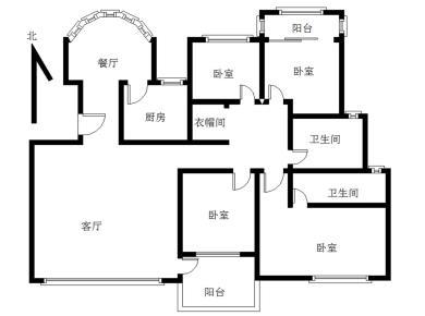 优山美地 精装大四房 南北通透 一梯两户