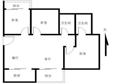 角美中骏三房 精装修 拎包入住 满两年 随时看房