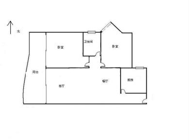 世纪海湾正规两居室