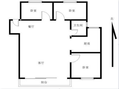 读演武小学 演武花园 步梯三房 南北通透 2000年建成