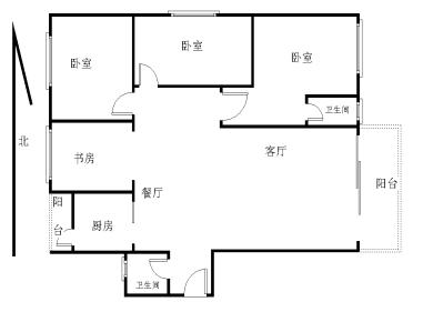 枋湖 金湖路旁 御之苑 电梯大三房 产权满2年