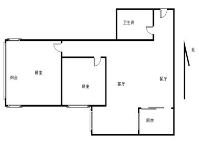 四川大厦2房2厅  高层视野好  看房提前约