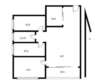 万科城精装三房,中间楼层,产权满两年