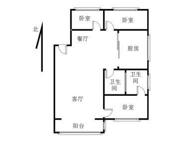 正规三房 凤凰城旁 产权满两年 看房方便 业主换房