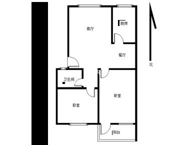 翠湖邨 地铁口精装两房 南北通透 拎包入住