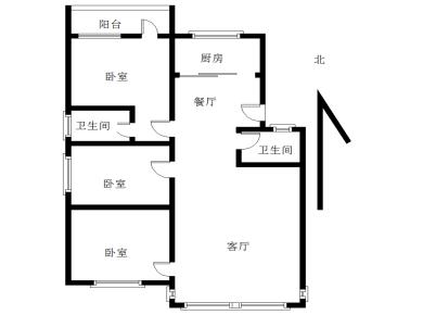 2000年框架房 同安一中、六中旁 老城区 边套三房两厅两卫