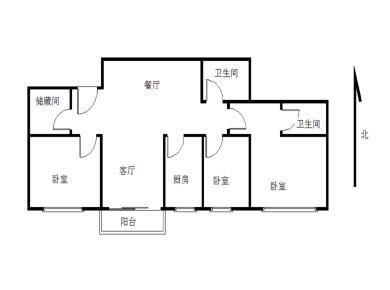 实验二小 电梯高层 精装修3房 满2年 客厅带阳台拎包入住
