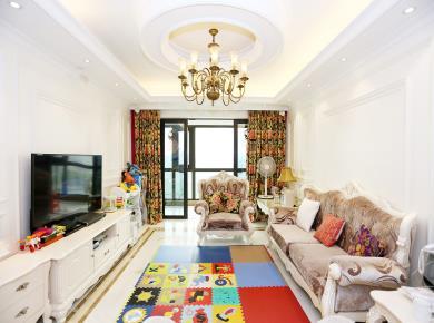 好房子赢在价值 国贸天琴湾 6号楼东边套 高楼层 欧式高装